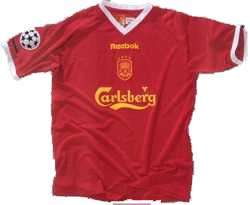 Liverpool Champions League 2001/03