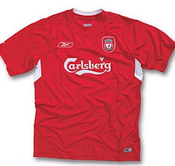 Liverpool Home 2004/06